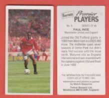 Manchester United Paul Ince England 6